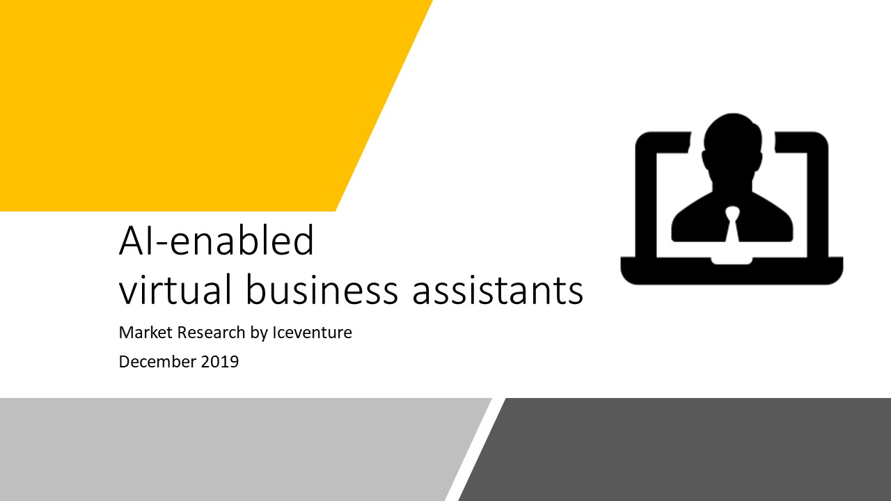 KI basierte Virtual Business Assistants Market Research 2020