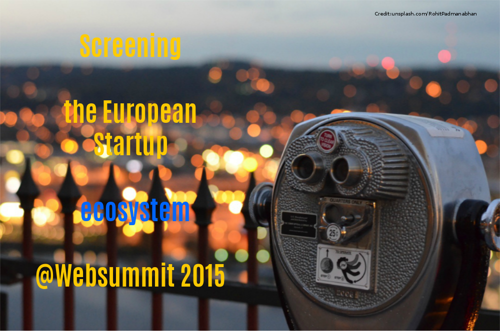 Screening the European Startup Innovation ecosystem